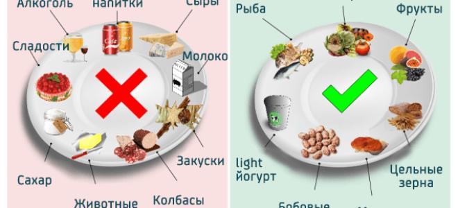Диета при повышенных триглицеридах в крови: как правильно питаться?