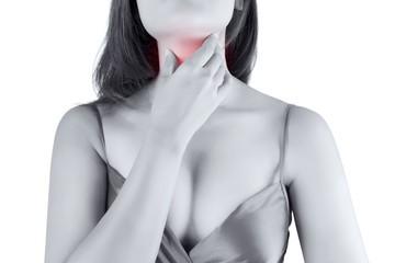 щитовидная железа болит у девушки