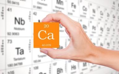 элемент кальций в таблице