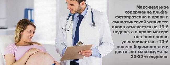 АФП (альфа-фетопротеин): норма при беременности