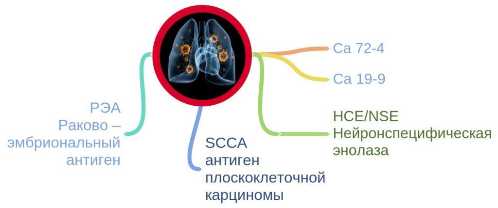 Онкомаркеры для диагностики рака легких